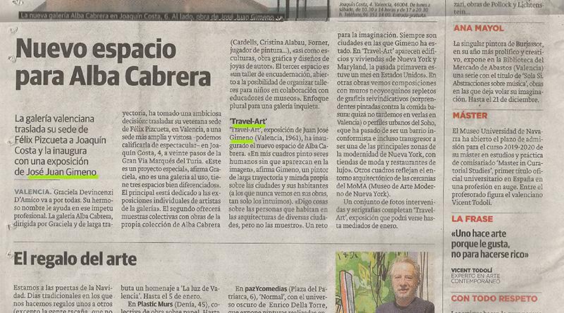 Jose Juan Gimeno en Alba Cabrera